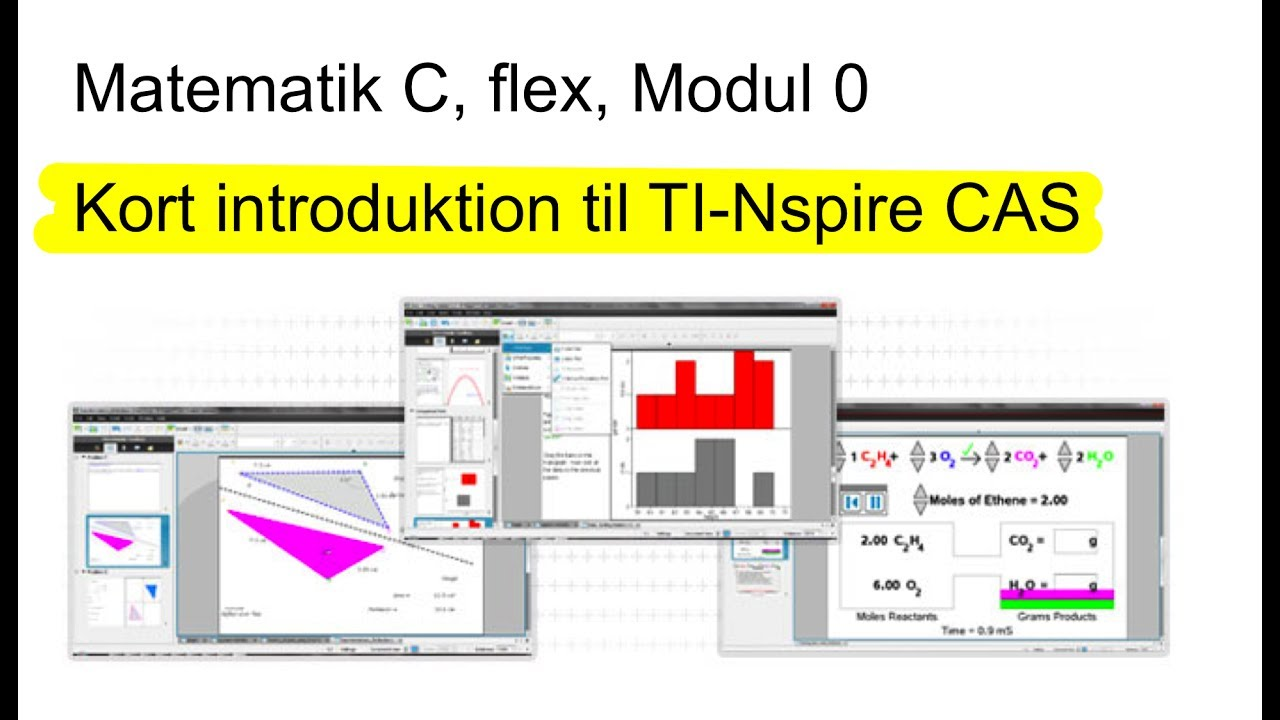 Matc Flex Modul 0 Ti Nspire Vejledning Youtube