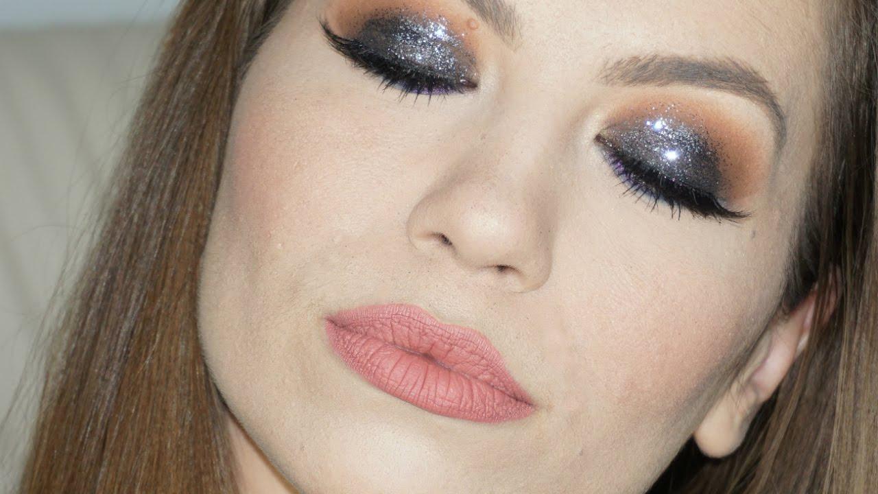 Tutorial Machiaj Smokey Glitter Mademoiselle Lorraine Youtube