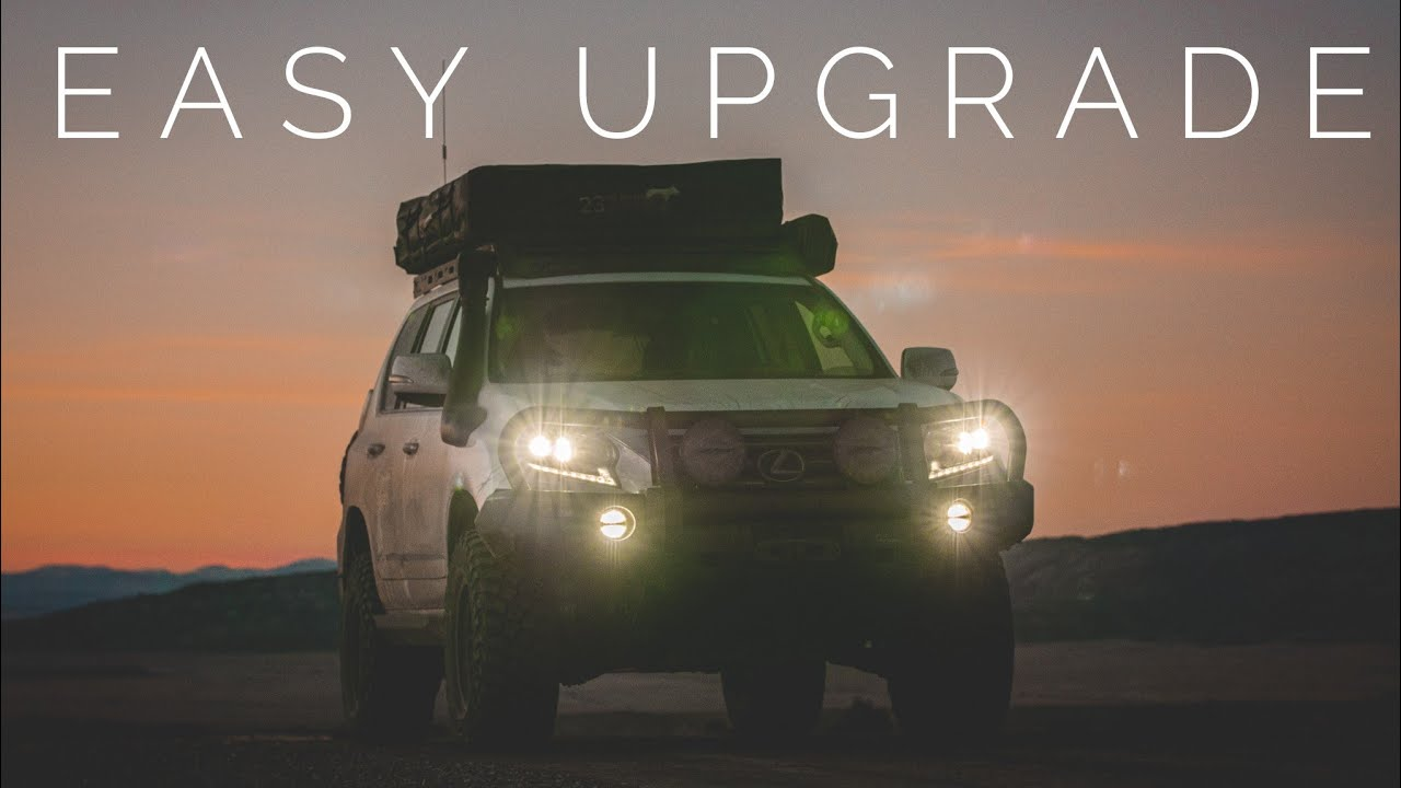A quick and easy lighting upgrade for any Overland Rig [How-To]