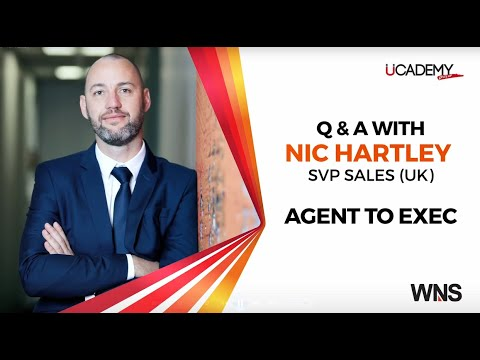 TALK BPM – Agent to Exec - Q&A with Nic Hartley
