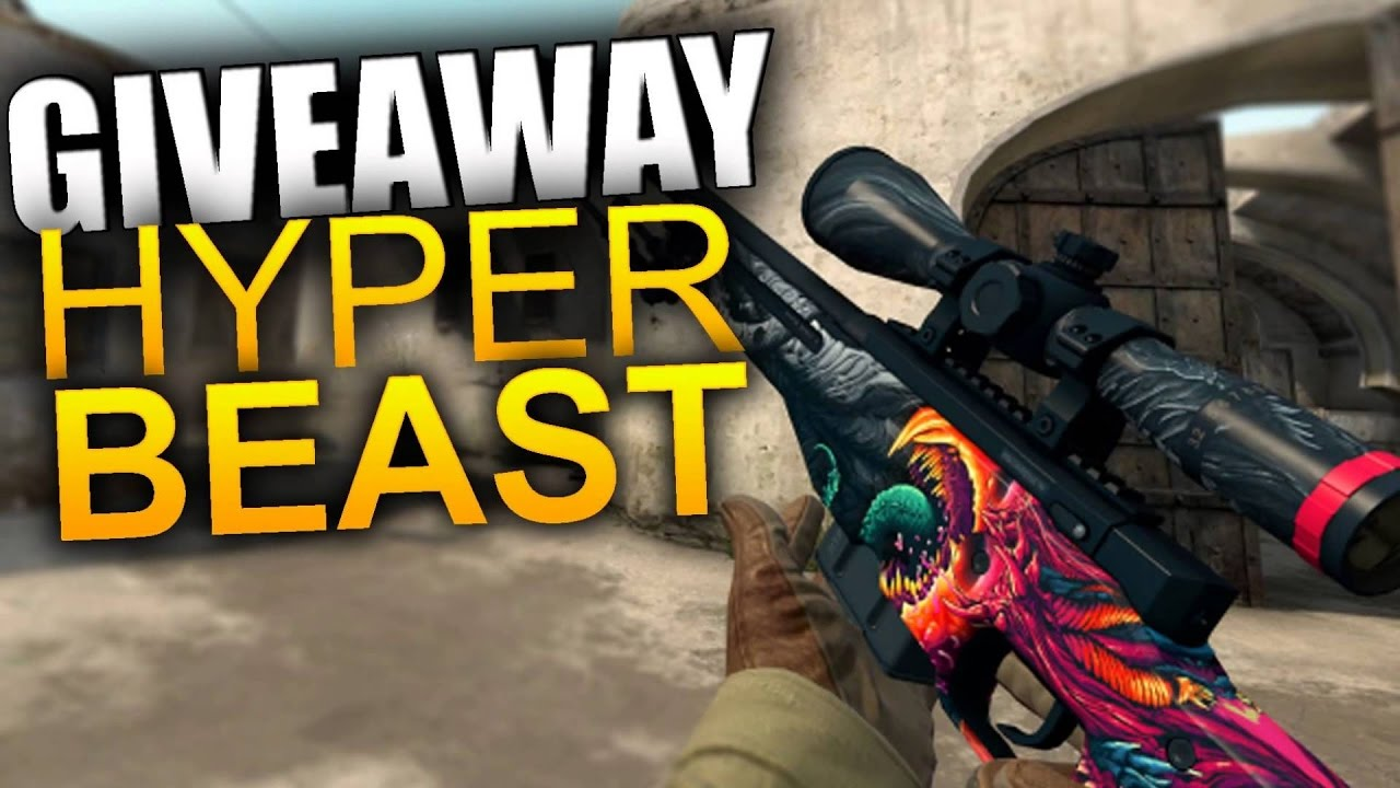 Cs Go Easter Giveaway Awp Hyper Beast Field Tested Closed