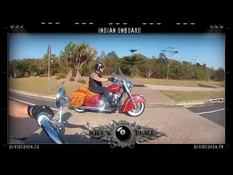 2014 Indian Chief Classic onboard