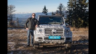 First Ride in the New 2018 Mercedes-Benz G-Class at the Schöckl!