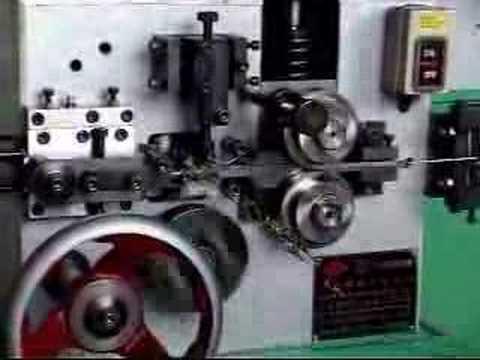 Spring Making Machine Single Point Spring Coiler Shortened