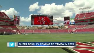 According to nfl insider ian rapoport, super bowl lv is being moved from los angeles tampa.