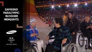 Samsung Paralympic Bloggers Wave Goodbye to PyeongChang