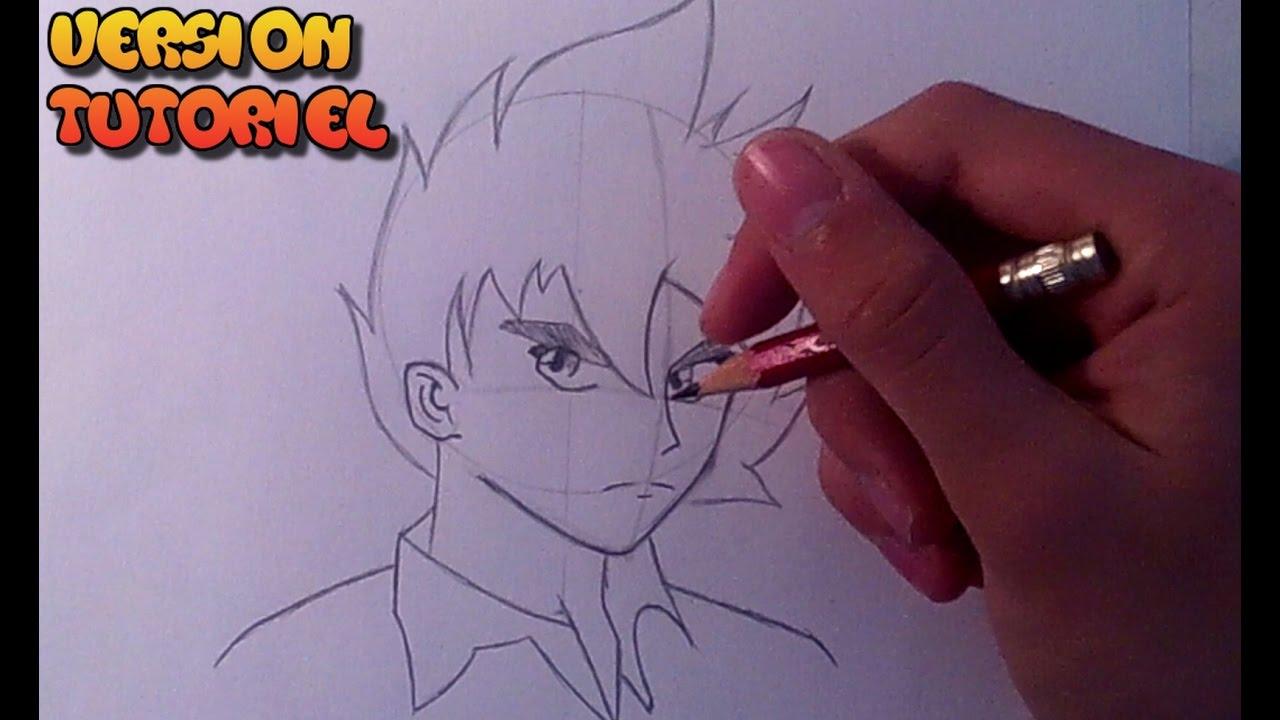 Dessiner Un Manga Garcon Tutoriel Youtube