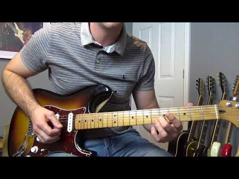 Stevie Ray Vaughan Scuttle Buttin' Full Guitar Lesson