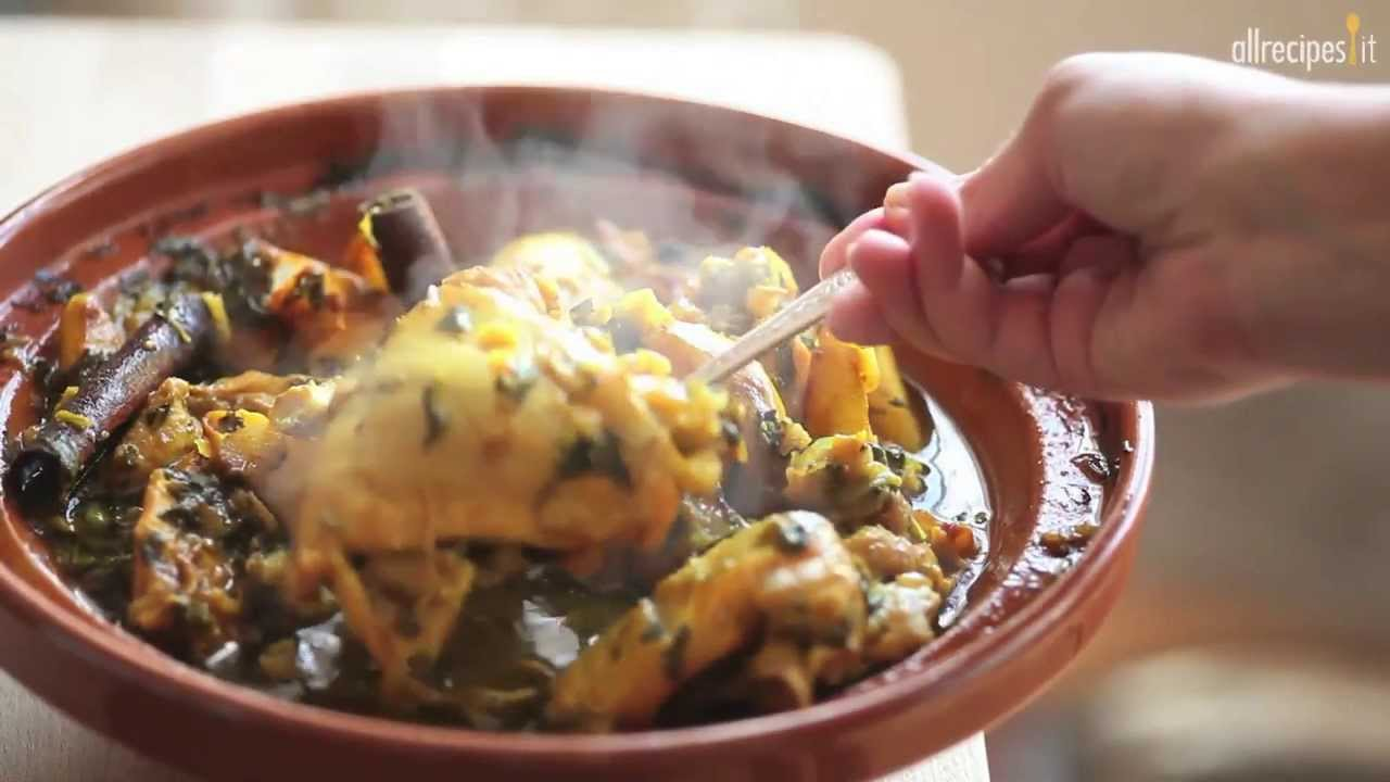 Come fare la tagine di pollo videoricette di cucina for Piatti di cucina