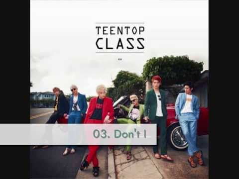 [AUDIO/MP3 DL] Teen Top (틴탑) - Don`t I