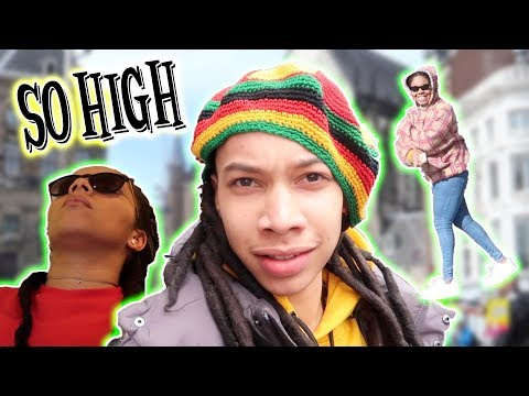 FLEW TO AMSTERDAM TO GET HIGH OFF MUSHROOMS | DARNELL VLOGS