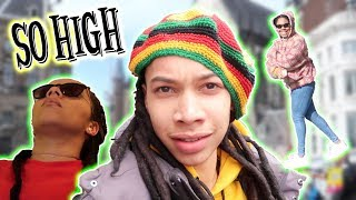 FLEW TO AMSTERDAM TO GET HIGH OFF MUSHROOMS | DARNELL VLOGS thumbnail