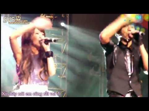 [vietsub] La Chí Tường và Dương Thừa Lâm hát Lian ai da ren live