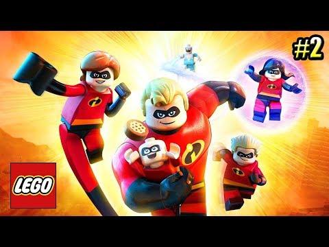 Суперсемейка {LEGO The Incredibles} прохождение часть 2 — Открытый Город
