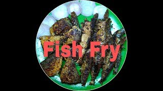 Simple Fish Fry || Meen Varuval || ( Aila And Mathi Fish )