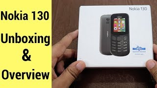 Nokia 130 - Nokia's Cheapest Phone - Unboxing And Features Overview