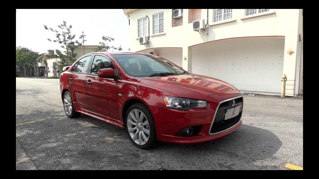 2010 Mitsubishi Lancer 2.0 GT Start Up And Full Vehicle Tour   YouTube
