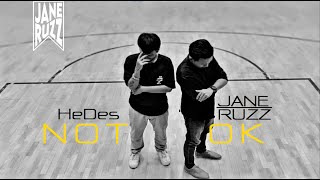 JANE RUZZ - ไม่โอเค (Not OK) Ft.HeDes「Official Audio」