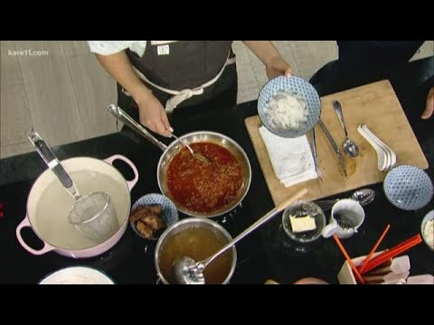 Lat 14 demonstrates dish from new restaurant
