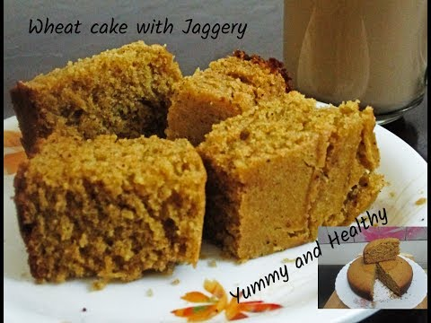Eggless wheat cake without oven/ശർക്കര  ഉപയോഗിച്ച് ഒരു അടിപൊളി  ഗോതമ്പ് കേക്ക്
