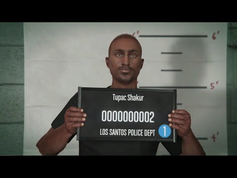 GTA Online Tutorial #15 - How to Look Like Tupac Shakur!