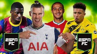 Transfer Deadline Day Countdown: Jadon Sancho, Thomas Partey & Houssem Aouar on the move?!   ESPN FC