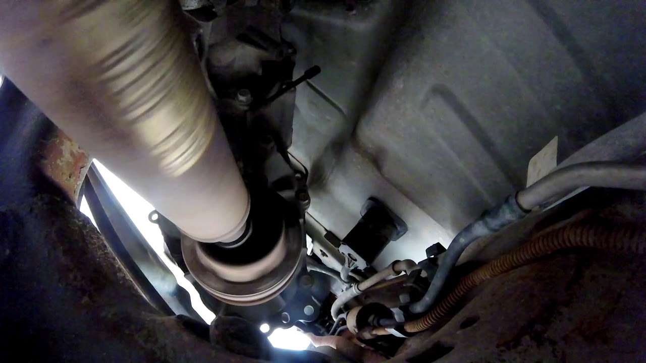 2000 ford ranger drive shaft removal