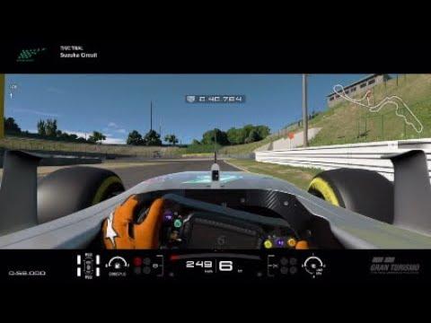 GTS Matched Lewis Hamilton Suzuka 1:27.3