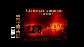 Alex M.O.R.P.H. & Liquid Soul - The Journey [UN001 Teaser]
