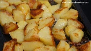 Roast Potatoes British Recipe Crispy Easy Spuds English Food How To Cook Great