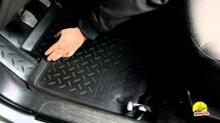 Обзор ковриков в салон Chevrolet Aveo '06-11 - Полиуретановые коврики в салон Norplast