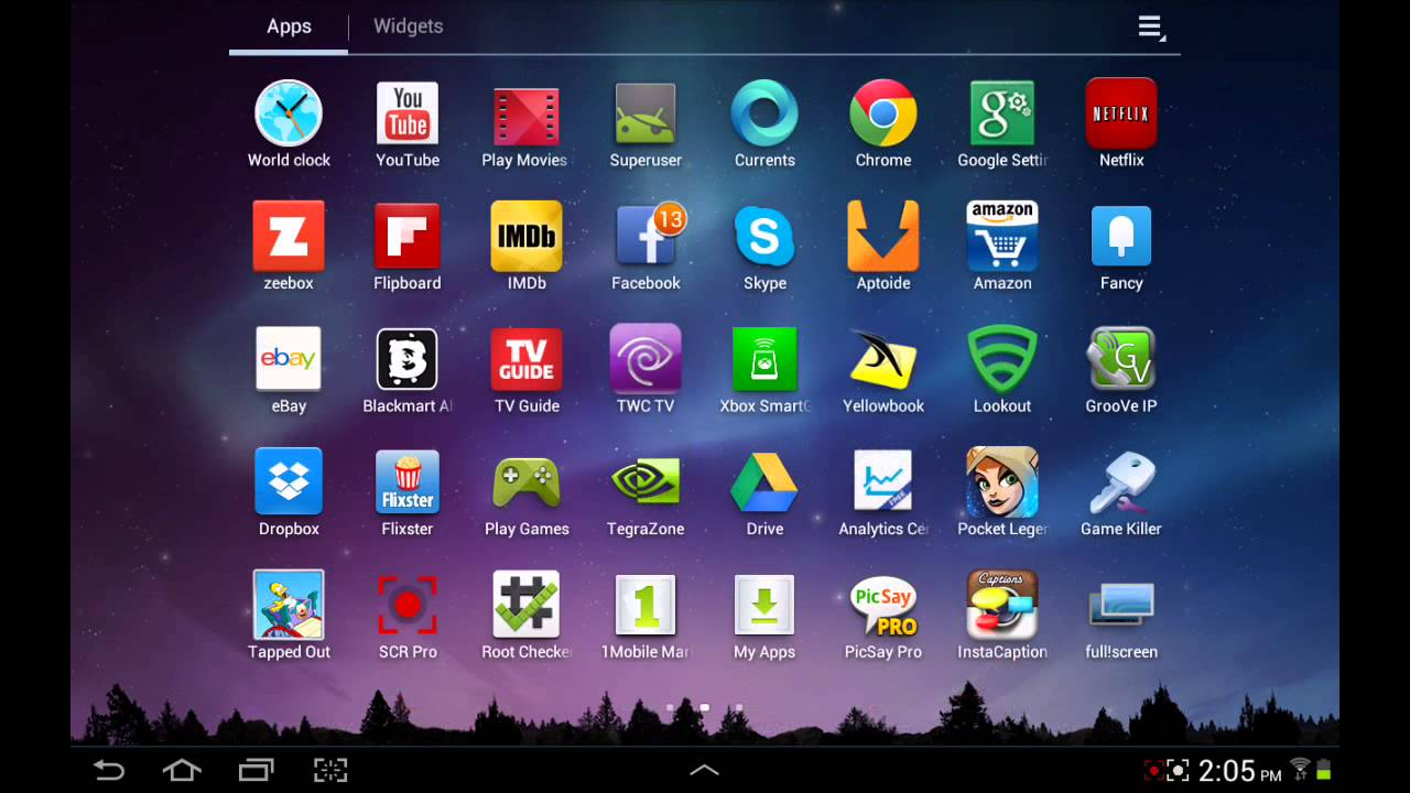 Hide the Android Status Bar on a Rooted Tablet