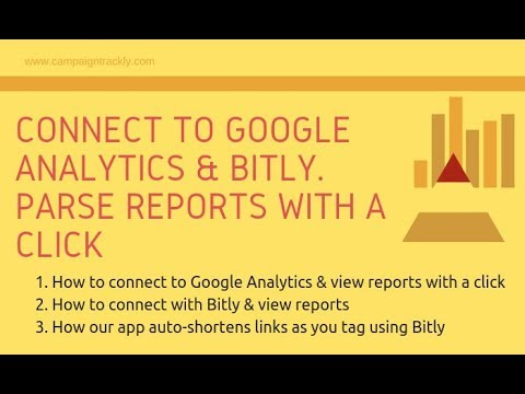3. Connect Our UTM Builder to Bit.ly & Google Analytics. Get Reports with a Click