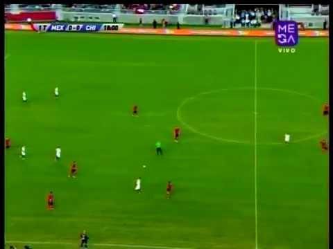 [1T] CHILE 0 Mexico 0 AMISTOSO 2014