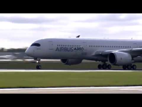 Rolls-Royce | Trent XWB engines power the first flight of Airbus A350 XWB