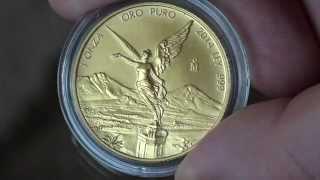 Mexico Libertad 1oz Pure Gold Coin (Oro Puro)