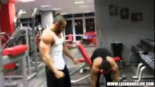 Lazar Angelov   Shoulders Workout With Slavi Goranchovski
