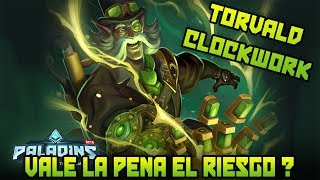Paladins: Torvald Steampunk / Clockwork Vale La Pena ? l Nuevo Cofre Steampunk