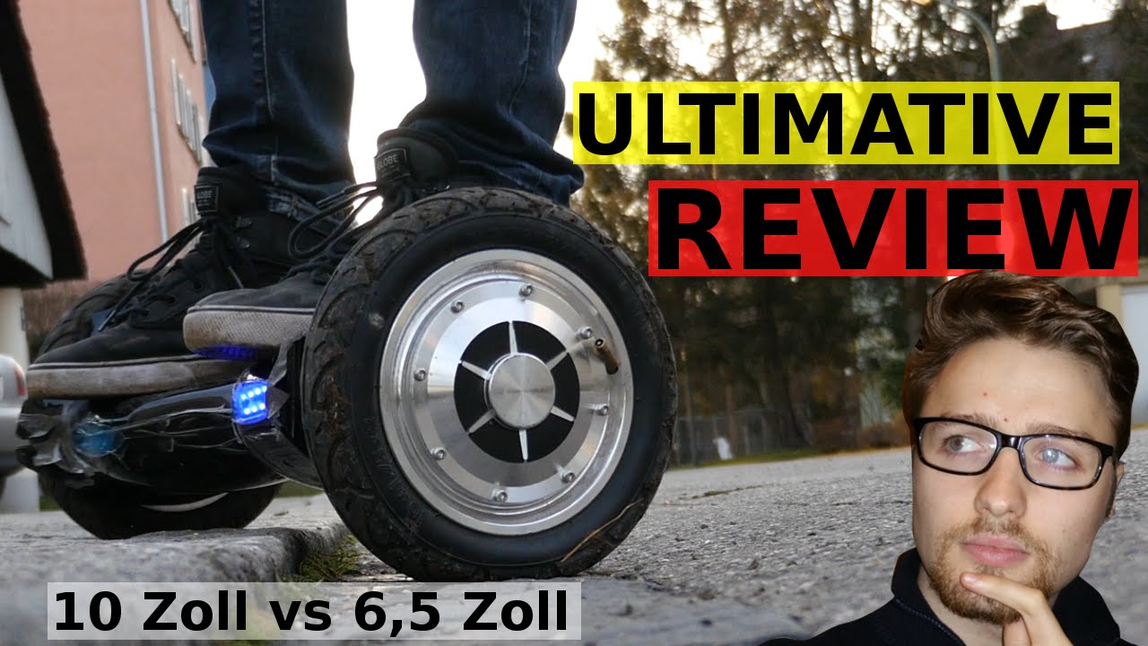 mini segway hoverboard balance board review 10 zoll vs 6 5 zoll youtube. Black Bedroom Furniture Sets. Home Design Ideas