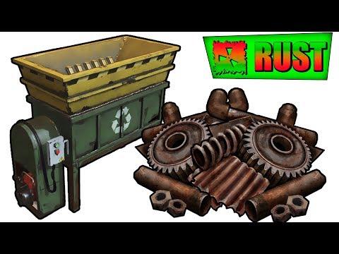 Rust самый безопасный способ Фарма компонентов и металлолома ! #7