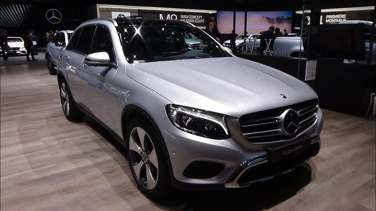 Mercedes Glc 250 4matic : 2018 mercedes benz glc 250 d 4matic exterior and interior geneva motor show 2018 youtube ~ Medecine-chirurgie-esthetiques.com Avis de Voitures