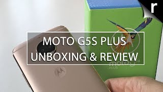 Moto G5s Plus Unboxing, Setup & Hands-on Review