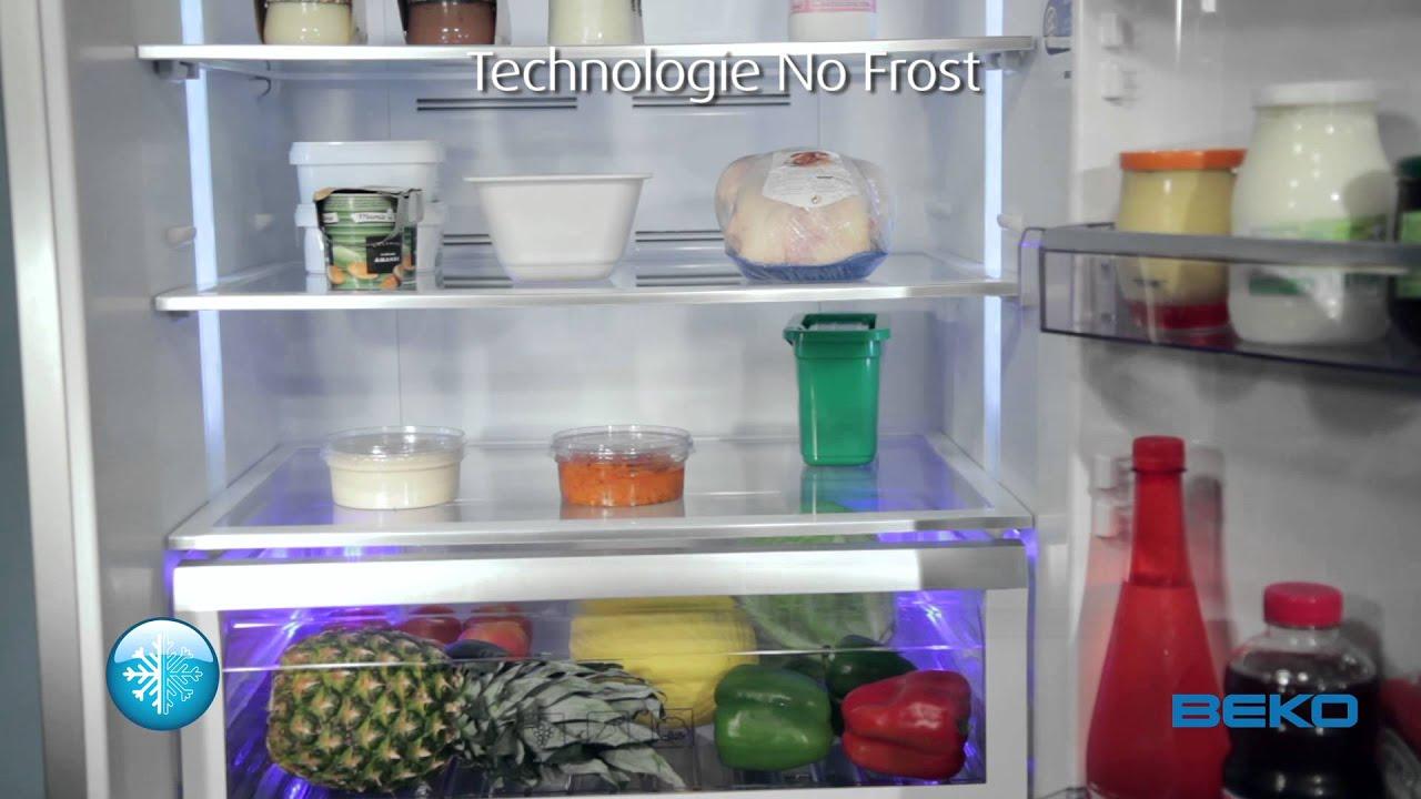 Réfrigérateur Combiné CN158230X   Beko