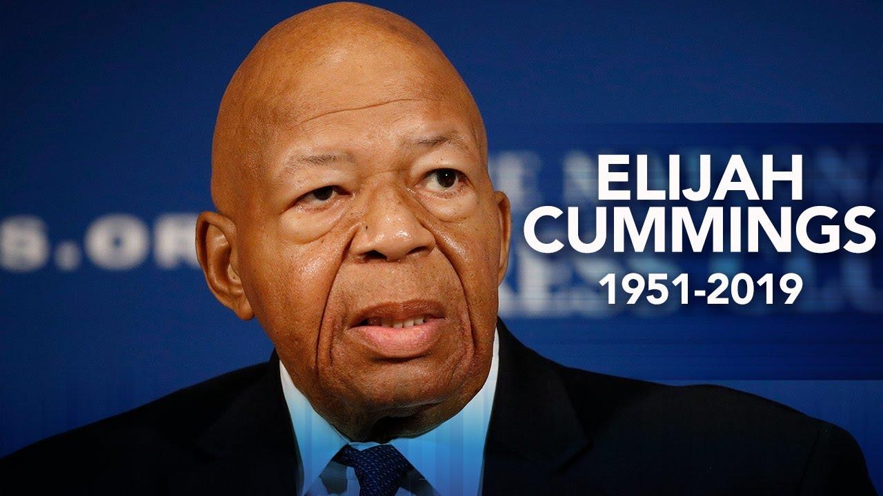 Elijah Cummings, Powerful Democrat Who Investigated Trump, Dies at 68