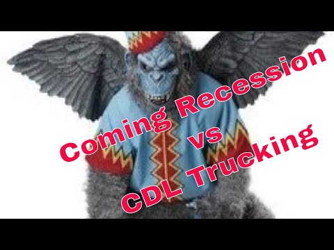 The Coming Recession + CDL Big Rig Trucking | Red Viking | Werewolf | Trucker | Tanker Driver