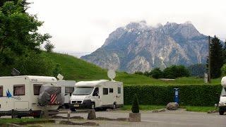 """Wohnmobil-Stellplatz """"Campers Stop"""" Füssen-Allgäu"""