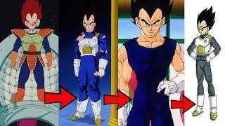 How Vegeta's Body Changed Over Decades Explained!!