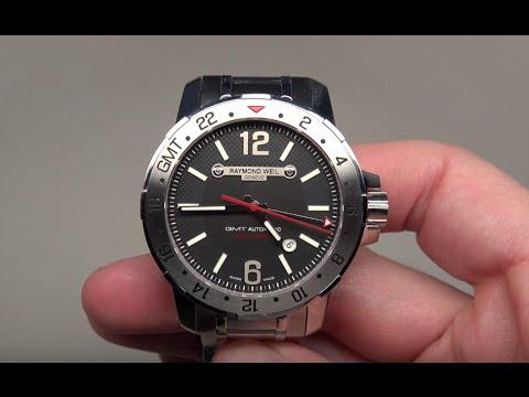 Raymond Weil Nabucco Gmt Men S Watch Review Model 3800 St 05207