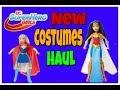 New DC Superhero Girls Costumes Haul