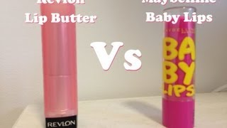 Maybelline Baby Lips vs Revlon Lip Butter Thumbnail